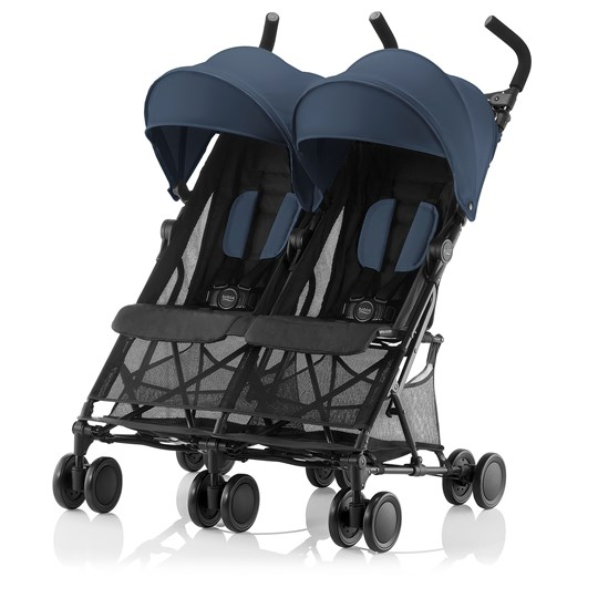Britax Holiday Double Stroller Navy Blue Navy Blue
