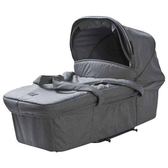 Carena Visby Carry Cot Dark Grey Melange Black