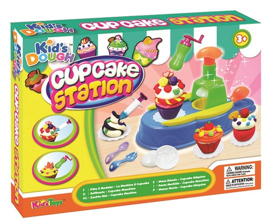 Kid`s Dough Leklera Cup Cake Station Multi