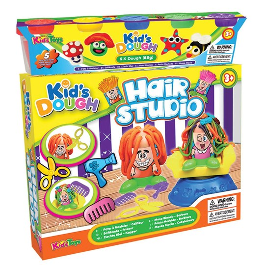 Kid`s Dough Playdough Hair Studio Multi