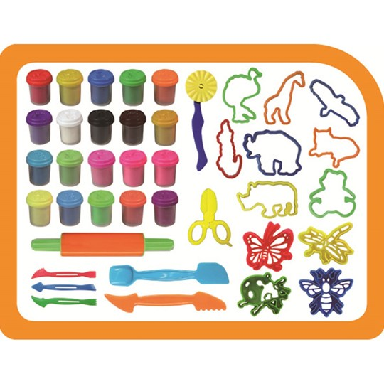 Kid`s Dough Playdough Super Pack