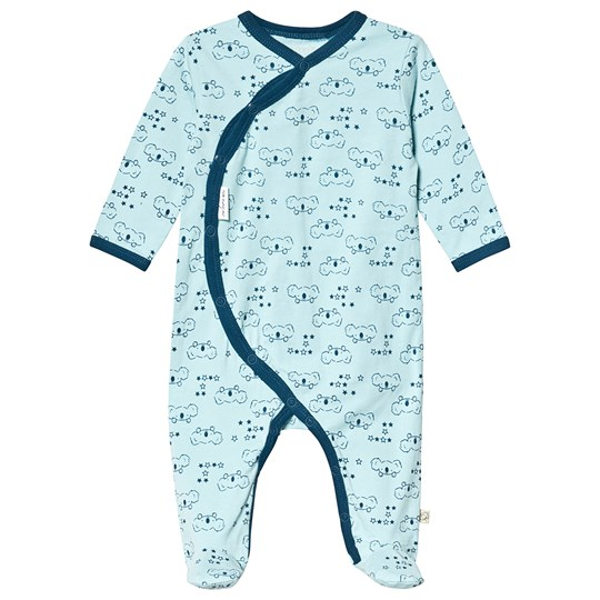 Minymo Footed Baby Body Porcelain Blue Porcelain Blue