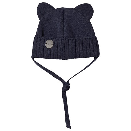 0d086abb987 Huttelihut. Mini Bear Hat Navy