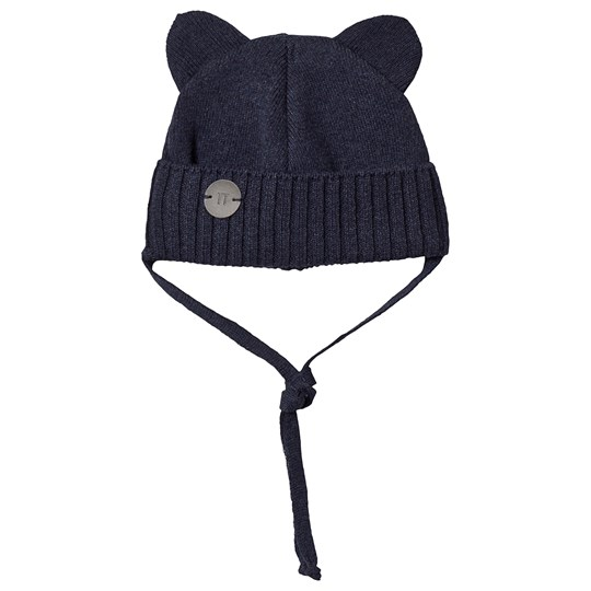 Huttelihut Mini Bear Hat Navy Navy