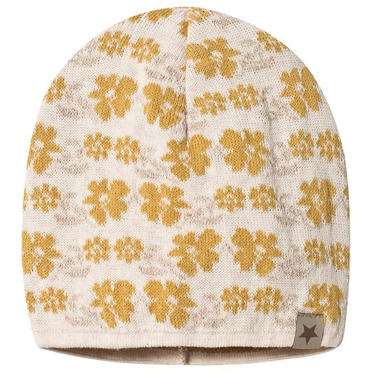 Huttelihut HipHop Hut Hat Flower Yellow Yellow