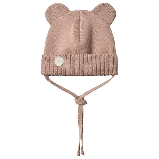 Huttelihut Mini Bear Hat Dusty Rose Dusty Rose