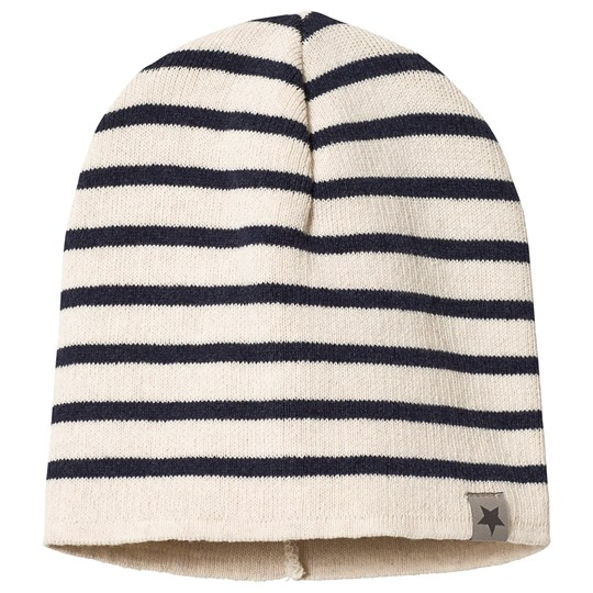 Huttelihut HipHop Hut Hat Stripe White/Navy Stripe White