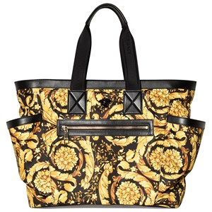 Image of Versace Gold Baroque All Over Print Changing Bag One Size (1274963)