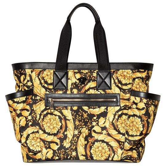 Versace Gold Baroque All Over Print Changing Bag YSGBO