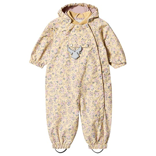 Wheat Floral Coverall Yellow Yellow