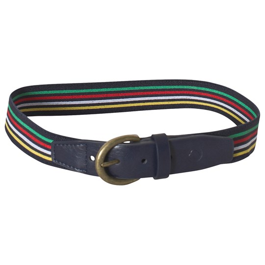 Mayoral Stripe Elasticated Belt Navy 54