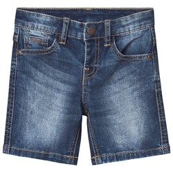 Mayoral Denim Shorts Mid Wash