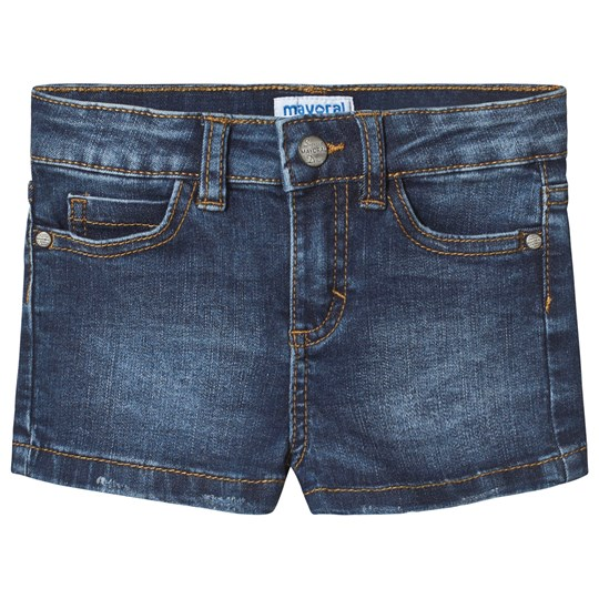 Mayoral Denim Shorts Blue 58