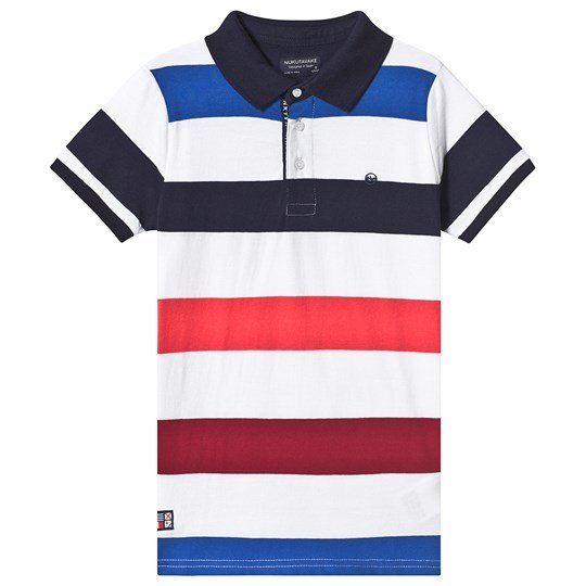 Mayoral Stripe Polo Navy/Red/White 50