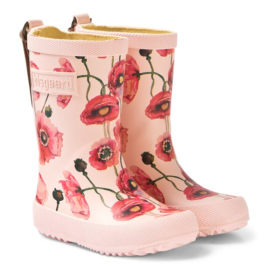 Bisgaard Rubber Boot - Fashion Nude Flowers Nude Flowers
