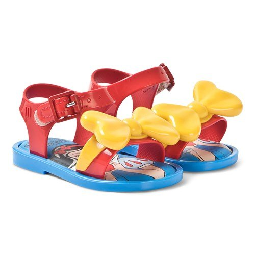 Red Contrast Mar Snow White Sandals