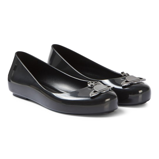 Mini Melissa Black Vivienne Westwood Space Love Shoes 52209