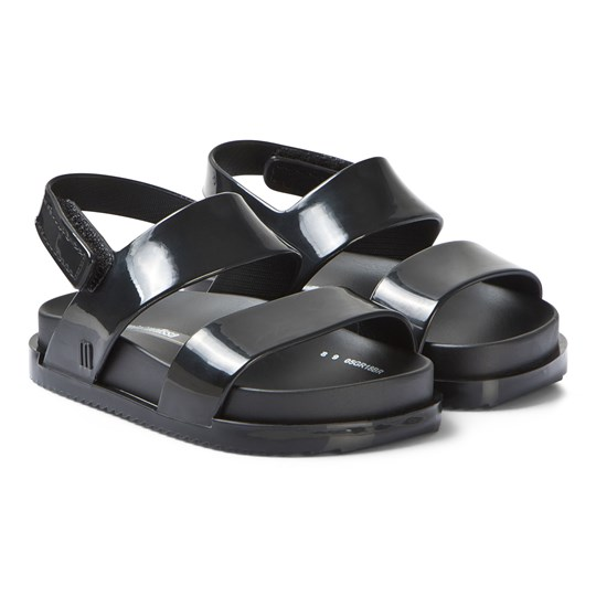 Mini Melissa Black Cosmic Sandals 01003
