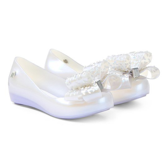 Mini Melissa Irridescent Ultragirl Luxe Bow Shoes 19742