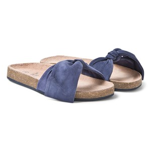 Image of Carrément Beau Bow Mules Navy 31 (UK 12.5) (3125240201)