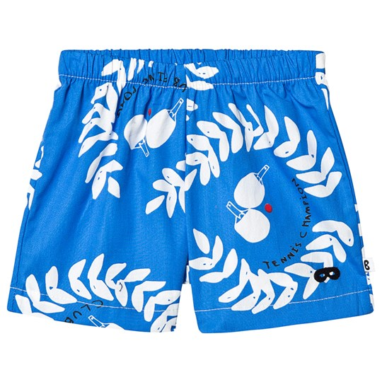 Beau Loves Ping Pong Club Baby Shorts Ink Blue Ink Blue, Ping Pong Club, White