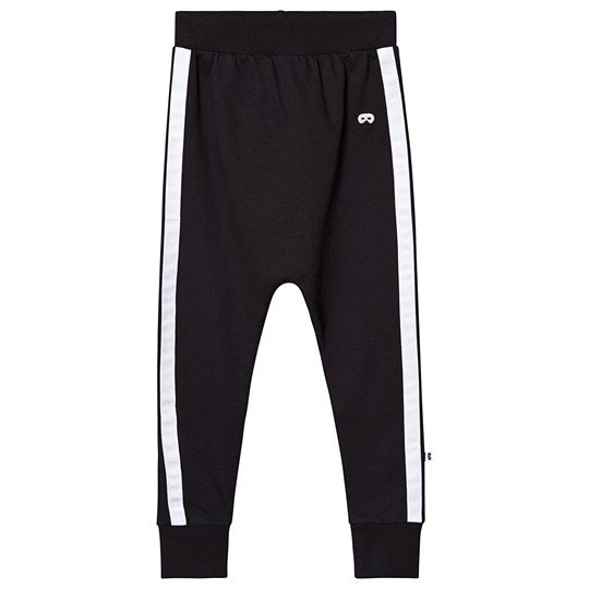 Beau Loves Side Stripe Velo Pants Black/White Black - White Stripe
