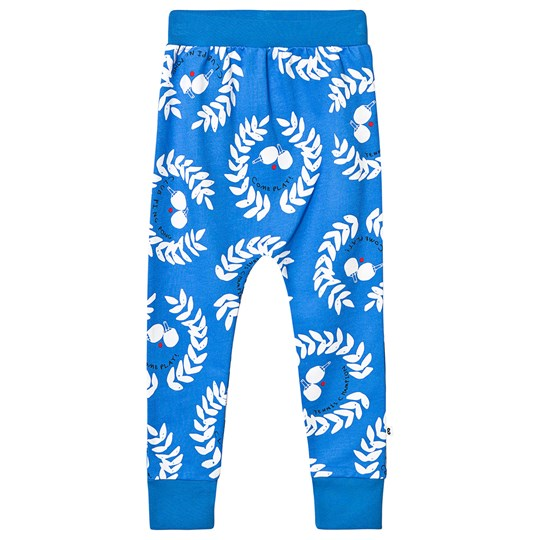 Beau Loves Ping Pong Club Velo Pants Ink Blue Ink Blue, Ping Pong Club, White