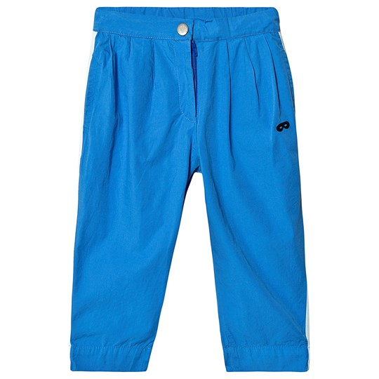 Beau Loves Side Stripe Chino Pants Blue Blue with Stripe