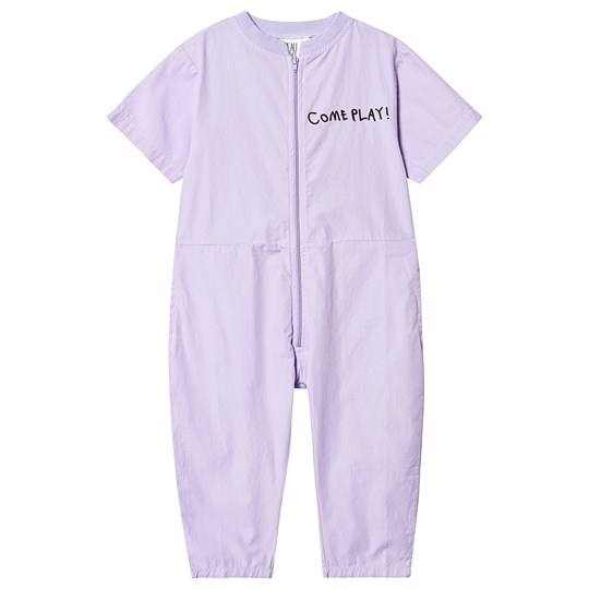 Beau Loves Fresh Air Club Poplin Jumpsuit Violet Violet Fresh Air