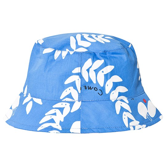 Beau Loves Ping Pong Club Bucket Hat Ink Blue Inky Blue, Ping Pong Club, White