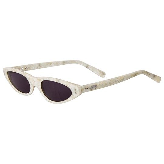 Beau Loves Cat-Eye Sunglasses Mother of Pearl Pearl
