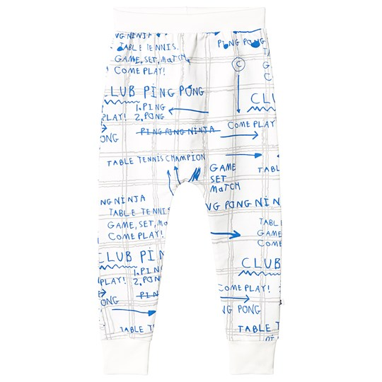 Beau Loves Game Plan Velo Pants Ecru Ecru, Game Plan, Grey/Ink Blue