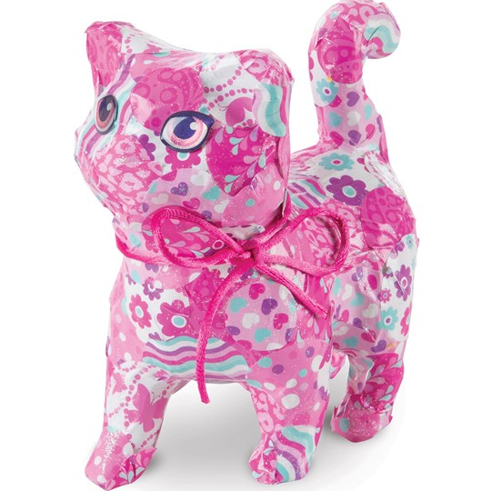 Melissa & Doug Decoupage Made Easy Kitten Pink