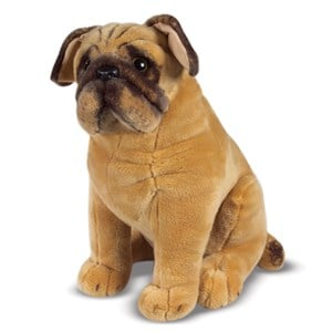 Image of Melissa & Doug Giant Plush Pug Dog 4 - 10 years (3125250145)