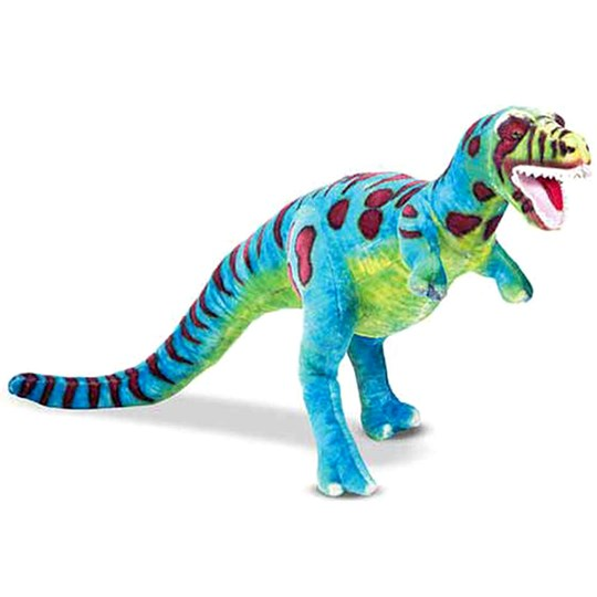 Melissa & Doug Giant Plush T-Rex Green