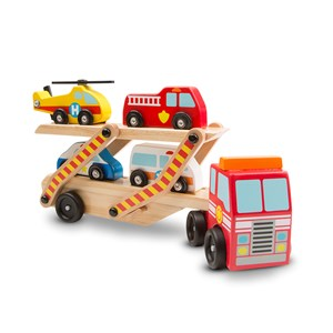 Image of Melissa & Doug Emergency Vehicle Carrier 3 - 6 år (3125292259)