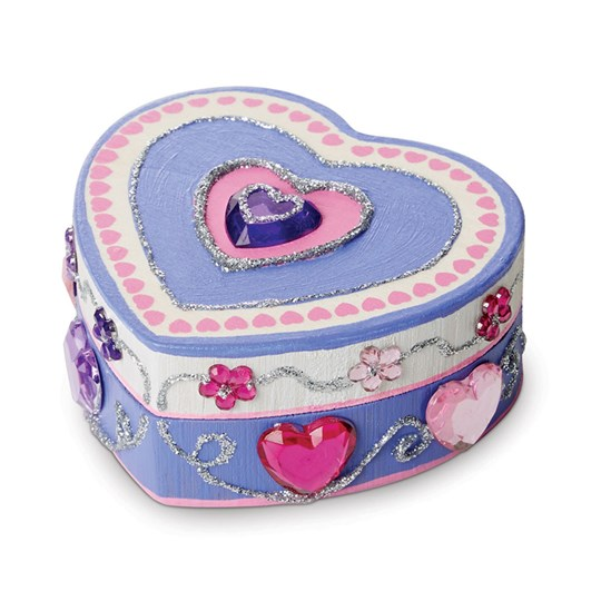 Melissa & Doug Heart Box Pink