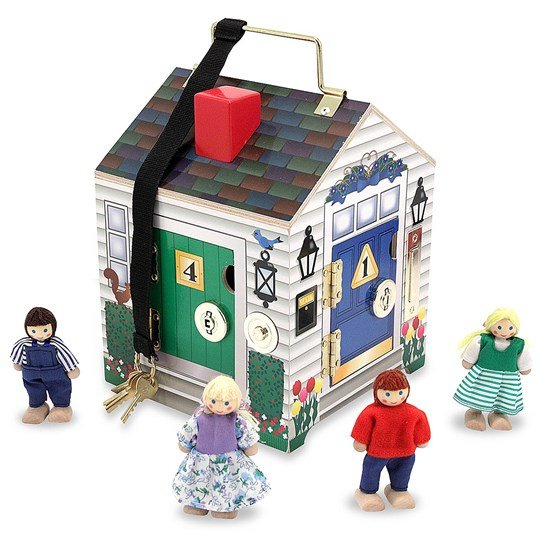 Melissa & Doug Doorbell House Multi