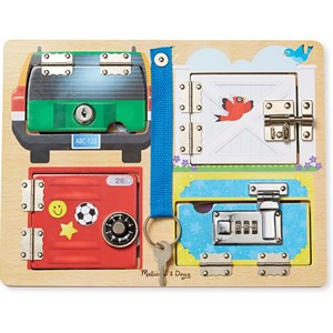 Image of Melissa & Doug Locks Board 3 - 6 år (3125263661)