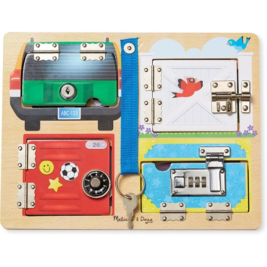 Melissa & Doug Locks Board Multi