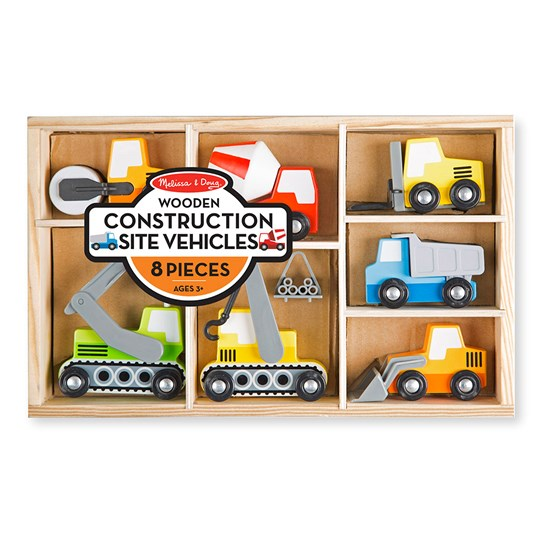 Melissa & Doug Construction Site Vehicles Multi