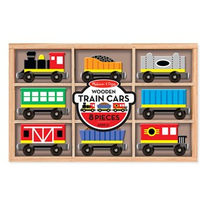 Image of Melissa & Doug Train Cars (3125343829)