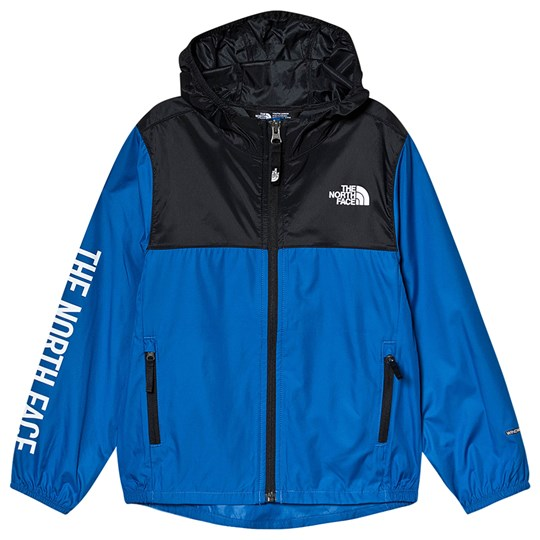 The North Face Blue & Black Colourblock Reactor Wind Jacket WXN