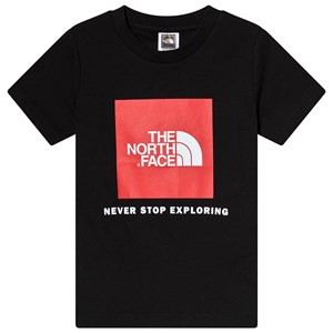 Image of The North Face Black Logo Box Tee L (14-16 years) (3125315999)