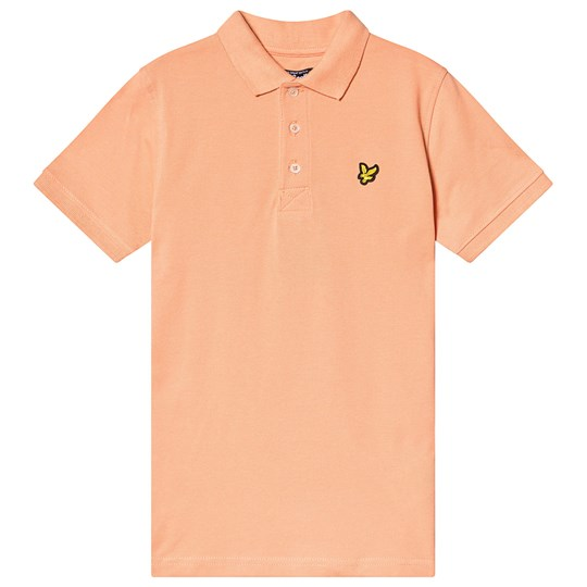 Lyle & Scott Classic Pikétröja Coral Orange 462