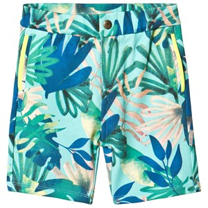 Image of Billybandit Green Tropical Shorts 12 mdr (1715343)