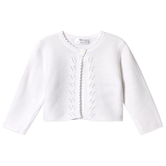 Mayoral Knitted Cardigan White 30
