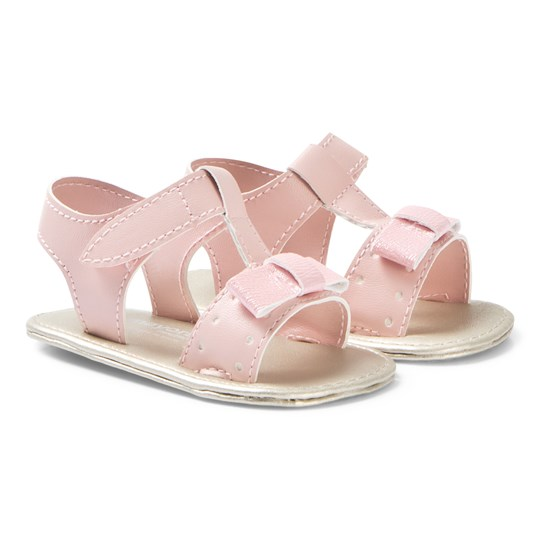 Mayoral Bow Crib Sandals Pink 57