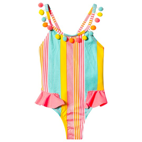 Billieblush Multicolor Ruffle Swimsuit