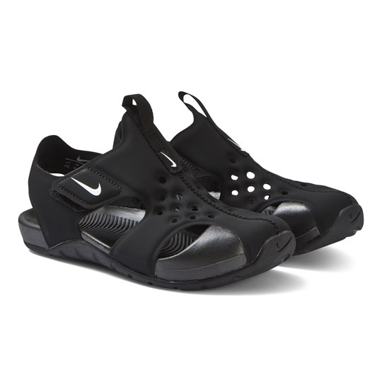 NIKE Black Nike Sunray Protect 2 Sandals 001